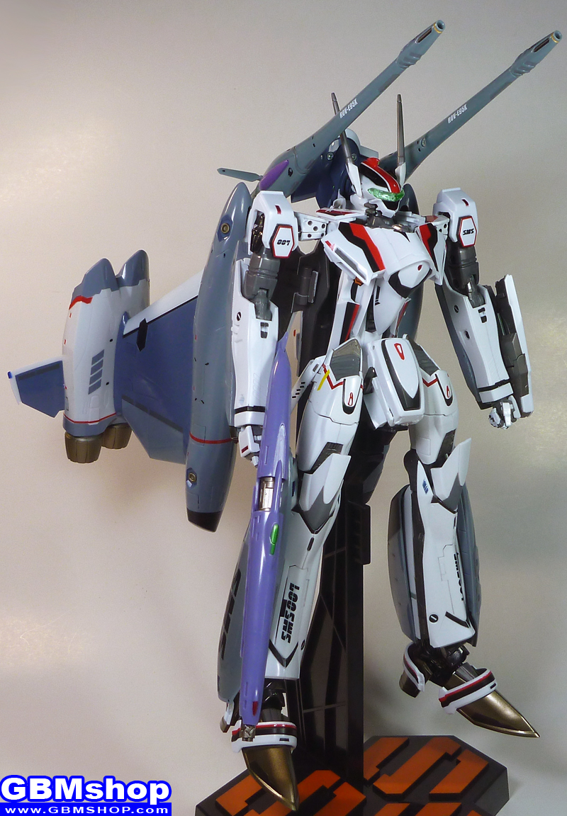 Macross Frontier VF-25F Renewal Version Tornado pack atmosphere use Battroid Mode