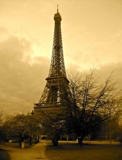 Tour Eiffel, antigua