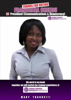 Francisca K Chiedu (@kcesca)