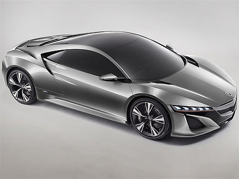 Motor Trend: Japanese car photos 2012 ACURA NSX Concept