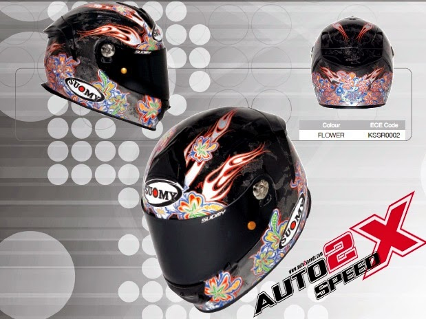 หมวกกันน็อค SUOMY SR SPORT FLOWER