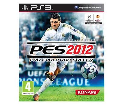 PES 2012 PS3 Pro Evolution Soccer