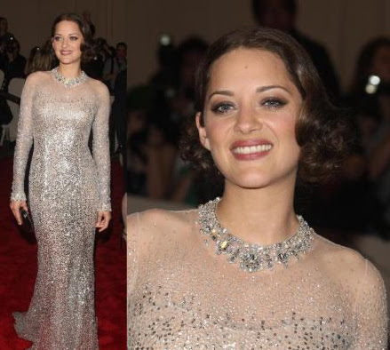 Marion Cotillard at Metropolitan Museum of Art Costume Gala Institute