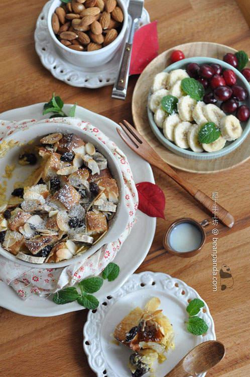 椰糖香蕉麵包布甸 Palm Sugar Coconut Bread Pudding01
