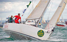 J/105 sailing RORC cervantes trophy race