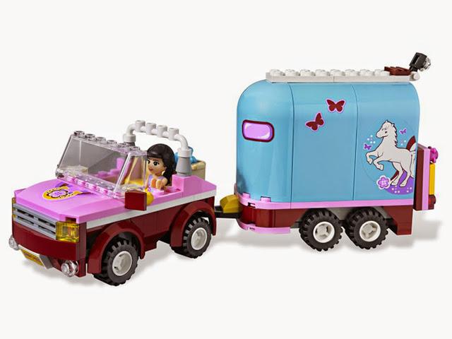 3186 レゴ フレンズ ホーストレーラー