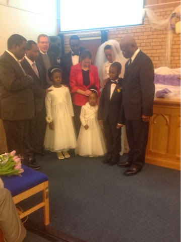 They Made Marriage Vows To Each Other In The Presence Of Family And Friends At Seventh Day Adventist Church