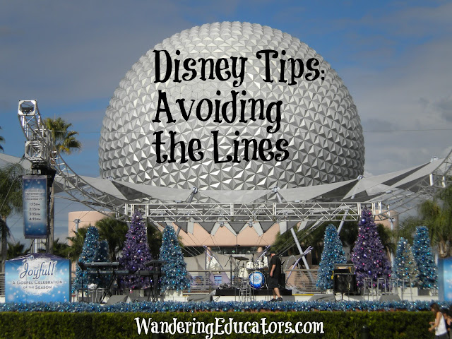 Disney Tips: Avoiding the Lines