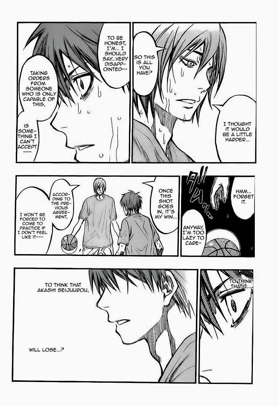 Kuroko no Basket Manga Chapter 221 - Image 08