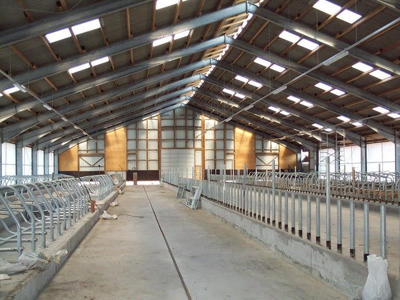 Freitragende Stahlkonstruktion