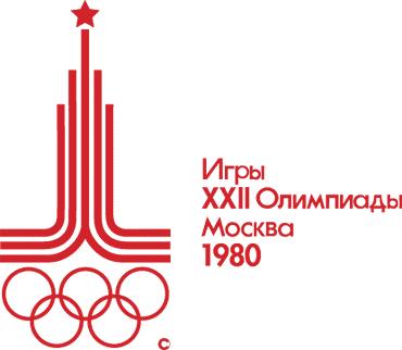 Logo des jeux Olympiques de Moscou 1980