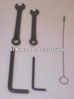 Llaves utilizadas en máquinas de coser