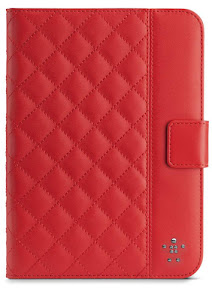 Belkin Quilted Cover with Stand for iPad mini Red