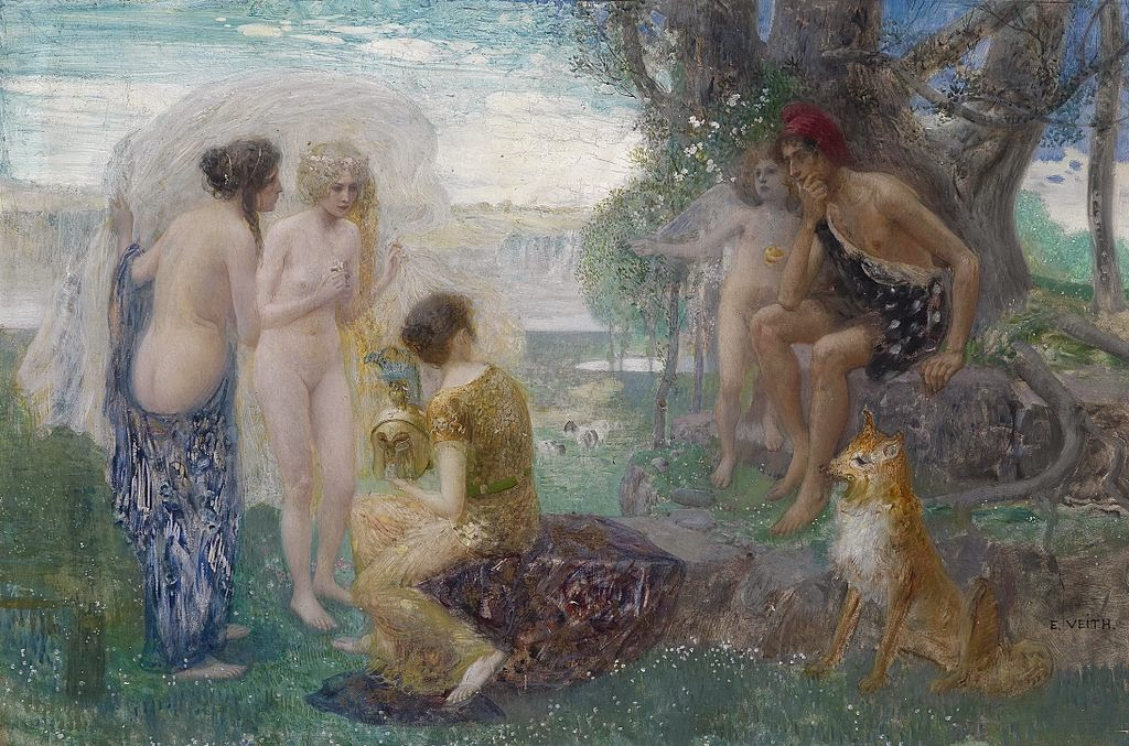 Eduard Veith - The Judgement of Paris