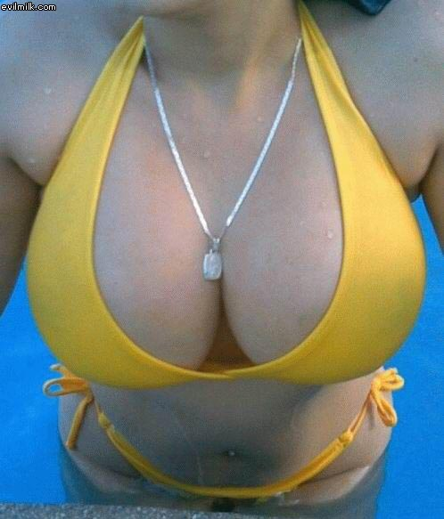 Floatation Device:find a girl,cleavage0