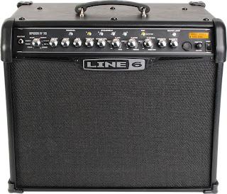 Blog art music instrumentos e equipamentos este o amplificador spider iv da line 6 ele possui controle de distoro controle de volume controle de srie de amplificao vrios presets de fandeluxe Choice Image