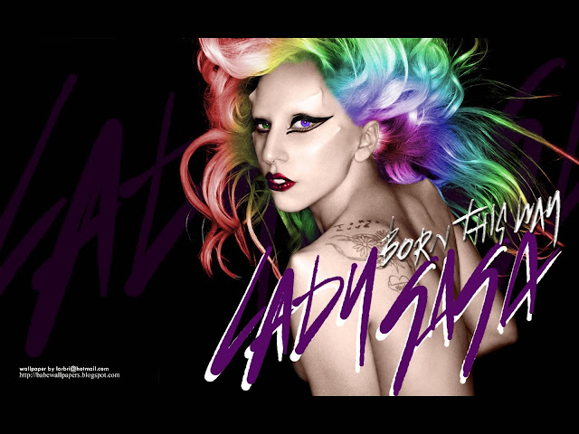 Lady Gaga Born This Way Colored