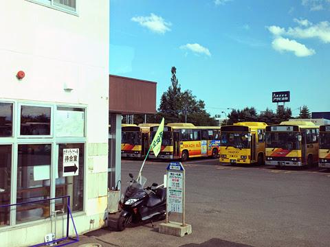 ジェイ・アール北海道バス「ポテトライナー」 3383 車窓 その5