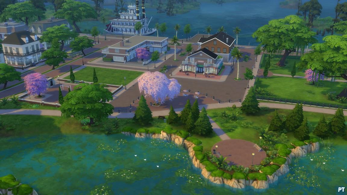 De Sims 4 Aan het Werk Magnolia Promenade
