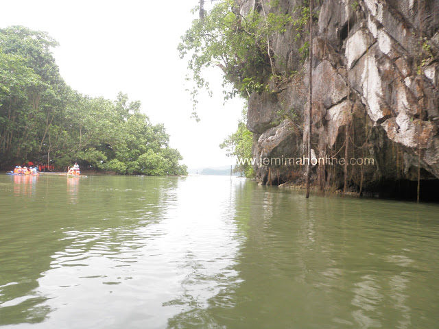 Puerto Prinsesa Subterranean river clear Lagoon