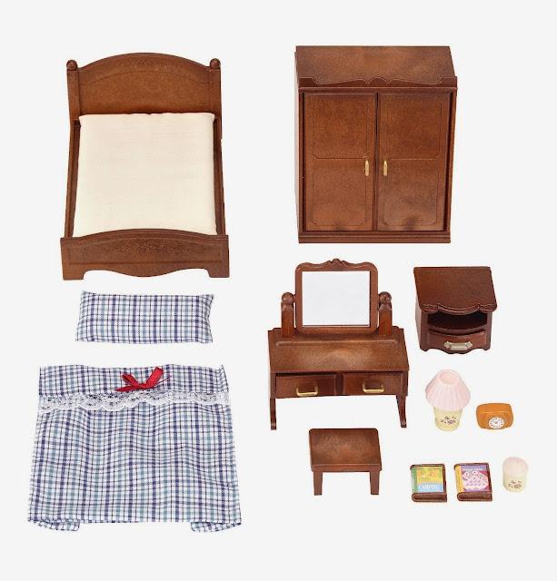 Đồ dùng phòng ngủ cho búp bê Sylavanian Families