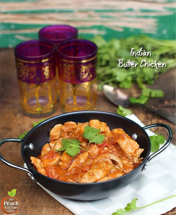 Indian Butter Chicken | www.thepeachkitchen.com