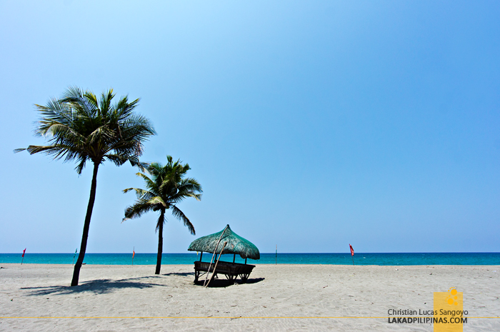 The Beach at Laoag's Fort Ilocandia