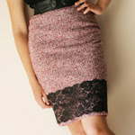 Lace Hem Skirt (vol.2)