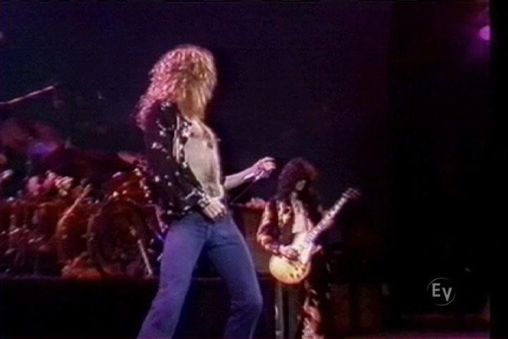 Led Zeppelin Earls Court Black Dog