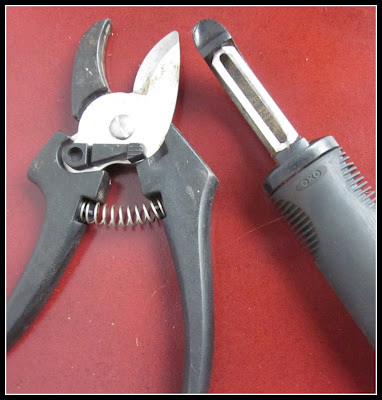 clipper and potato peeler