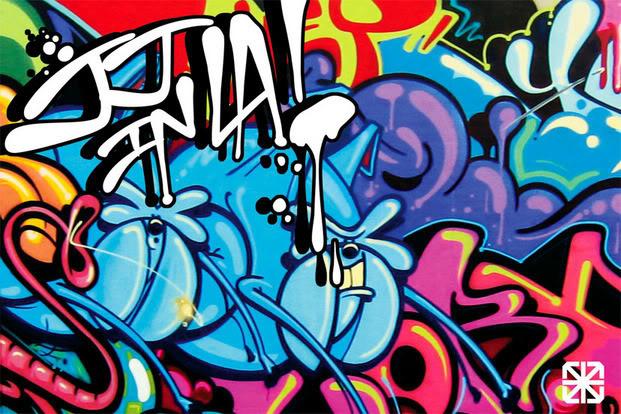 The Bubble Graffiti
