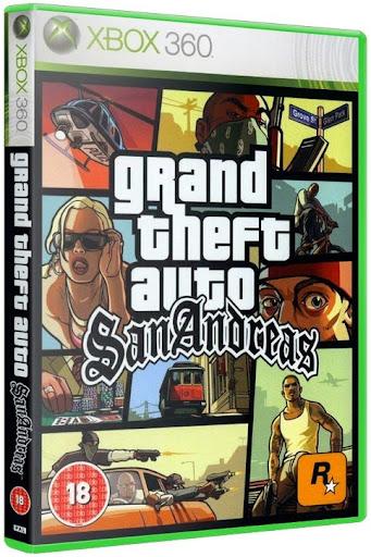 Grand Theft Auto: San Andreas Remastered XBOX 360 - Torrent + Tutorial Como Gravar (2014) Completo [XBLA/RGH]