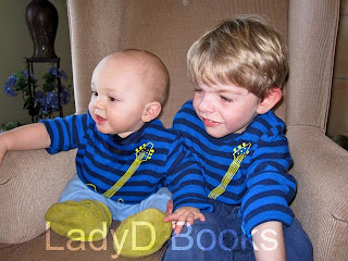 LadyD Books: Two Grandsons