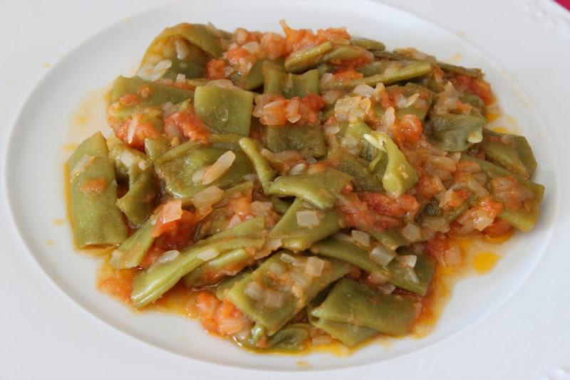 Jud as verdes con tomate un pellizco de canela for Cocinar judias negras