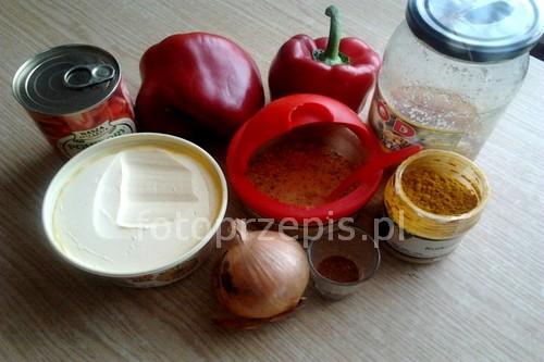 Sos meksykański na ciepło i na zimno wegetarianskie warzywa meksykanska latwe jednogarnkowe  przepis foto