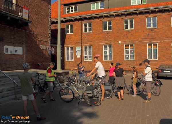 zaczynamy wycieczkę rowerową po Żuławach!