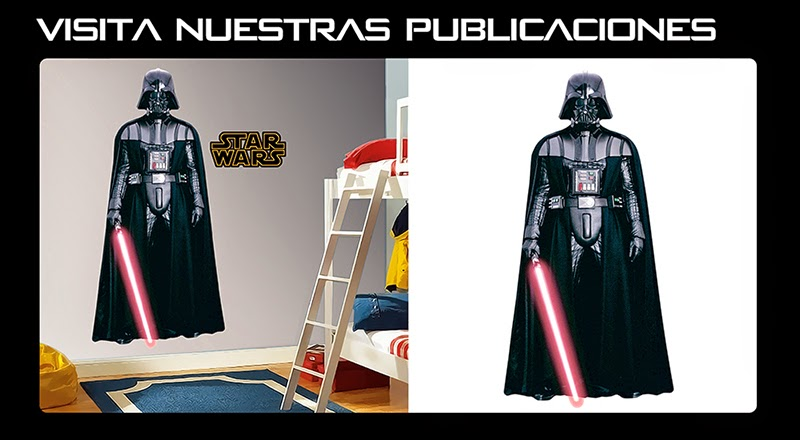 Darth Vader Sticker Adhesivo Gigante Arteygraficadigital