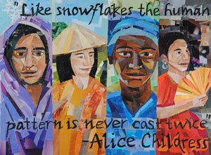 Art for Everyone by collage artist Megan Coyle