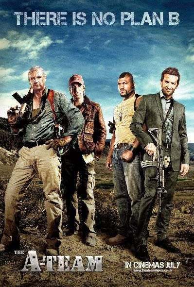 Poster Of The A-Team (2010) Full Movie Hindi Dubbed Free Download Watch Online At Alldownloads4u.Com