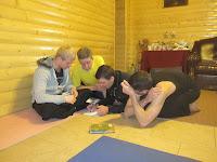 Фоторепортаж с тренинга по ньяса-йоге 12-18 февраля 2012г в Карпатах.735