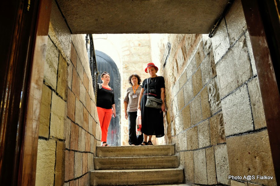 Темница Иисуса. Виа Долороза. Экскурсия по Иерусалиму. Гид в Израиле Светлана Фиалкова.