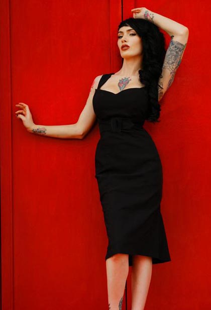 Hit It Or Quit It Pin Up Rockabilly Fashion Inspiration