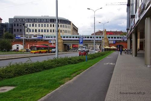 Separowana droga dla rowerów
