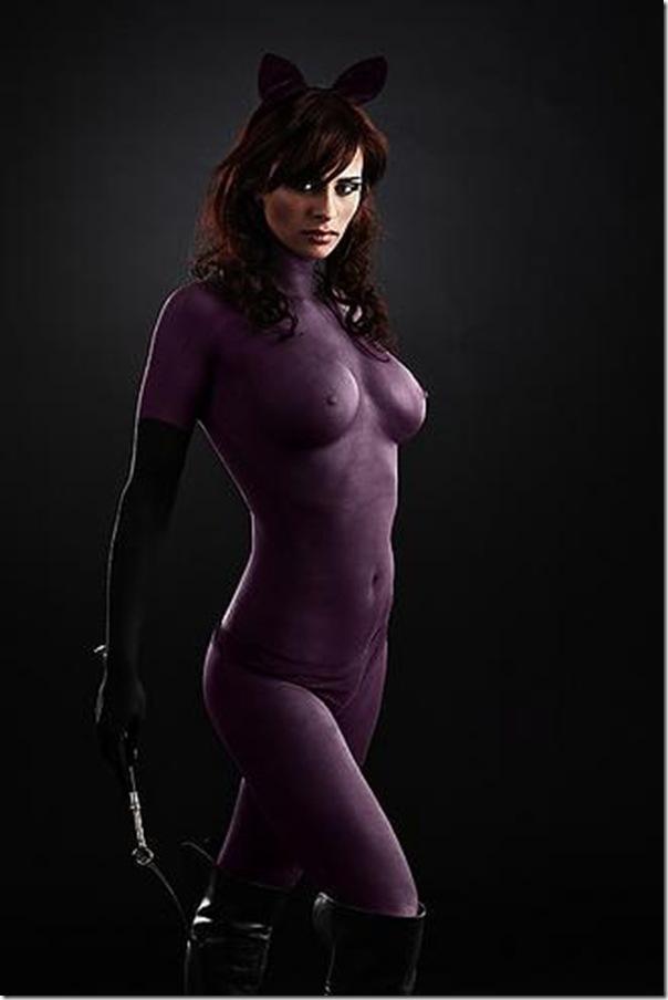 Final, Sexy nude superhero costumes