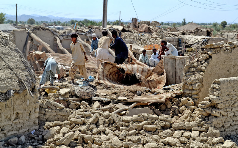 Pakistan earthquake victims