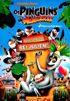 Download Os Pinguins De Madagascar Feliz Dia Do Rei Julien AVI Dual Áudio RMVB Dublado