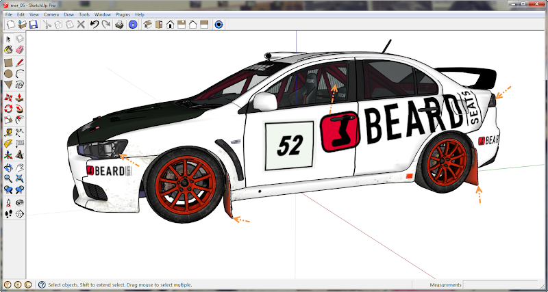 การเพิ่มลายรถใหม่ลงไปใน DiRT 3 และการทำภาพ Tiles ของรถ Newcar39