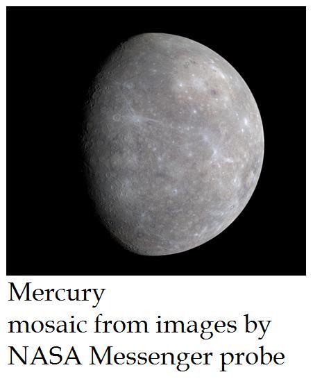 Vleeptron_Z: Messenger space probe about to orbit Mercury ...