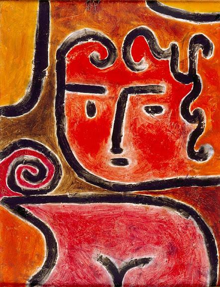 Paul Klee - Hot-Blooded Girl, 1938