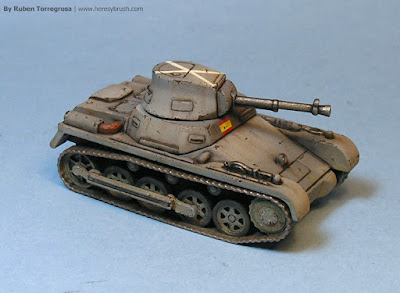Panzer I A modificado - right side